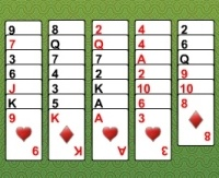 flesh oyinlar kartasi solitaire